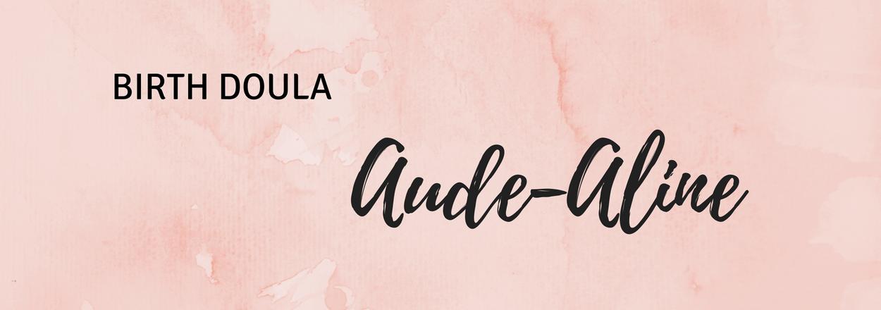 aude aline birth doula banner